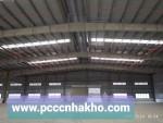 PCCC kho xưởng sản xuất Khu dân cư Phú sinh,Đức Hòa,Long An