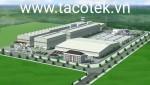 Thi công nhà xưởng ở Tân Phước Khánh,Tân Uyên 14774m2