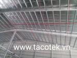 Thi công lắp đặt hệ thống PCCC nhà xưởng 6000m2 khu vực Đức Hòa Đông, tỉnh Long An