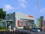 Thi công PCCC  Nhà trưng bày, kinh doanh và xưởng dịch vụ sửa chữa ô tô Nissan
