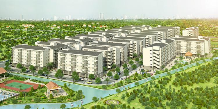 Chung Cư EHOME 4- Bắc Sài Gòn