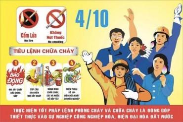 Hưởng ứng Ngày Toàn dân PCCC