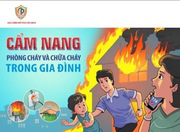 Cẩm nang phòng cháy chữa cháy trong gia đình