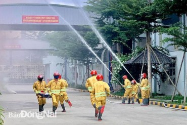 Chế độ, chính sách mới dành cho lực lượng chữa cháy tại chỗ