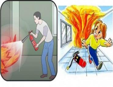 Kinh nghiệm thoát nạn trong các đám cháy
