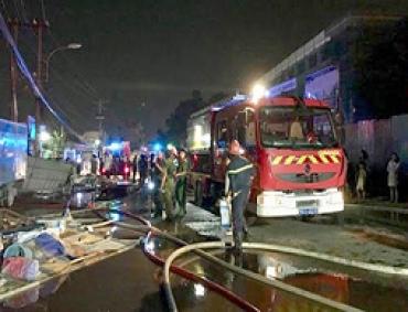 TPHCM: Hai vụ cháy trong ngày cuối cùng của tháng 10