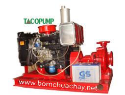 Bơm chữa cháy động cơ Diesel TACO 480m3 - 75m