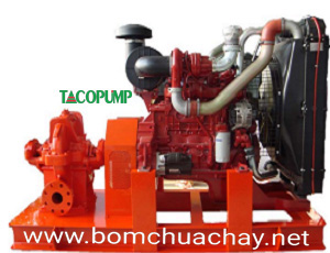 Máy bơm nước chữa cháy Diesel TACO 460m3-80m