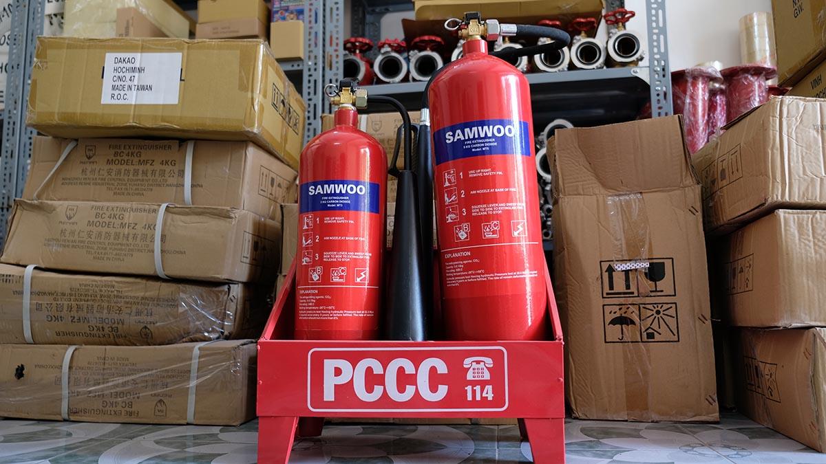 Bình chữa cháy CO2 Samwoo MT2, MT5, MT24