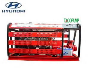 Máy bơm chữa cháy Huyndai -Diesel 55 kW