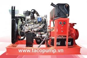 Máy bơm chữa cháy Huyndai -Diesel 75 kW