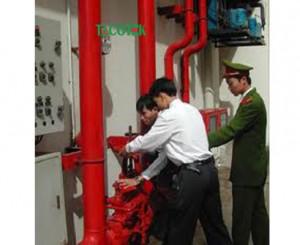 Kiểm tra thi công cấp nước chữa cháy