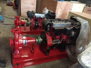 Bơm chữa cháy động cơ Diesel TDC 125-200/150