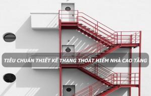 Tiêu chí để Thi công cầu thang sắt thoát hiểm